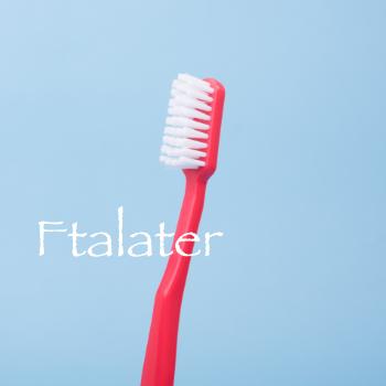 en tandborste med ftalater